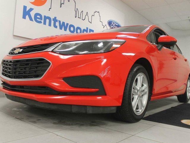 2017 CHEVROLET CRUZE LT Auto- Cruze'n down the streets withe my heated seats in Edmonton, Alberta