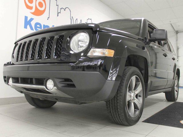 2016 JEEP PATRIOT Sport/North4x4 - sunroof, power heated leather seats. It's a JEEP, you can't go wrong in Edmonton, Alberta