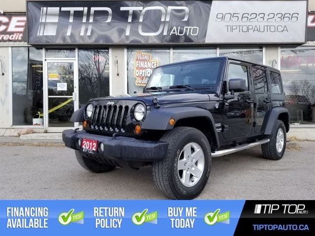 2012 JEEP Wrangler Unlimited Sport ** Automatic, Cruise Control, A/C ** in Bowmanville, Ontario