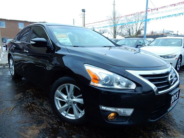 2013 NISSAN ALTIMA 2.5 SL  LEATHER.ROOF  ONE OWNER  ACCIDENT FREE in Kitchener, Ontario