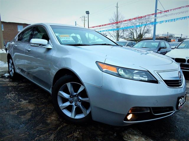 2012 ACURA TL PREMIUM  LEATHER.ROOF  ONE OWNER in Kitchener, Ontario