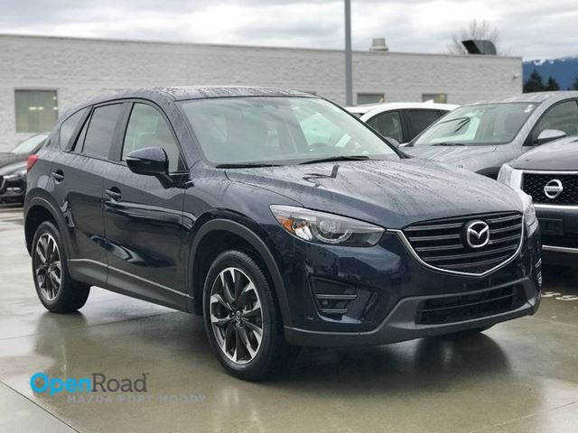 2016 MAZDA CX-5 GT AWD A/T No Accident One Owner Local Blueooth in Port Moody, British Columbia
