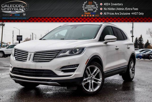 2017 LINCOLN MKC Reserve AWD Navi Pano Sunroof Backup Cam Bluetooth R-Start 18Alloy Rims in Bolton, Ontario
