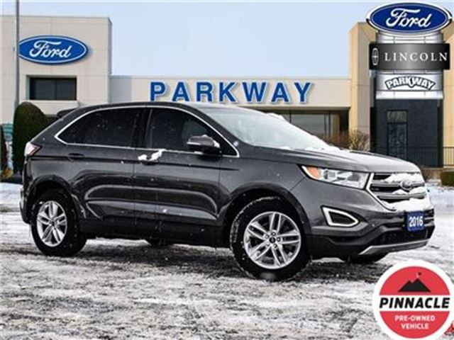 2016 FORD EDGE SEL FWD 1-OWNER NO ACCIDENTS $219 BIWEEKLY $0 DOWN in Waterloo, Ontario