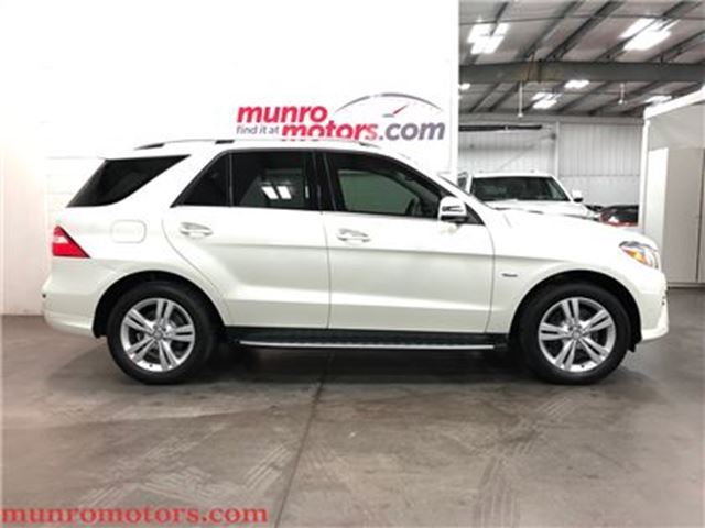 2012 MERCEDES-BENZ M-CLASS ML 350 BlueTEC BLIS Panoramic in St George Brant, Ontario