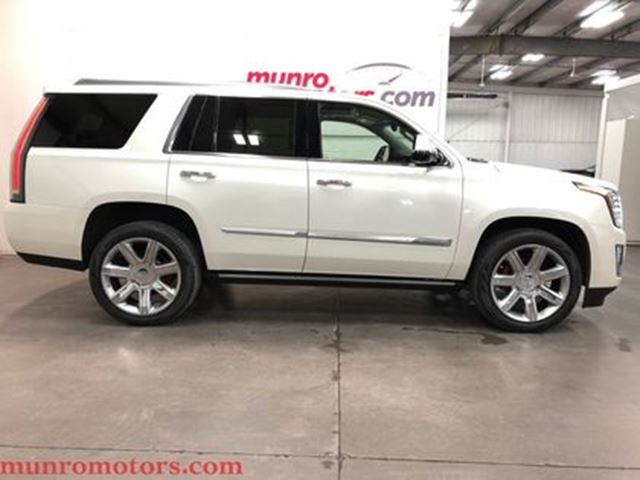 2015 CADILLAC ESCALADE Premium HUD 22'' Wheels White Diamond Tricoat in St George Brant, Ontario