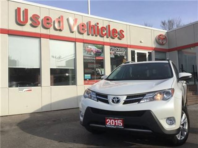 2015 TOYOTA RAV4 LIMITED AWD- NAV, SUNROOF, LEATHER, ALLOYS, B/T, B in Toronto, Ontario