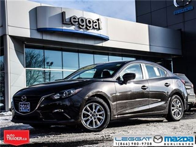 2015 MAZDA MAZDA3 GS in Burlington, Ontario