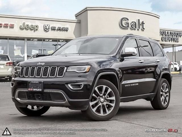 2018 JEEP GRAND CHEROKEE LIMITED 4X4 DEMO   LEATHER TOW GRP NAV UCONNECT in Cambridge, Ontario