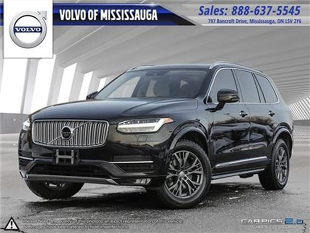 2016 VOLVO XC90 T6 AWD Inscription LEASE RETURN, DEALER SERVICED, in Mississauga, Ontario