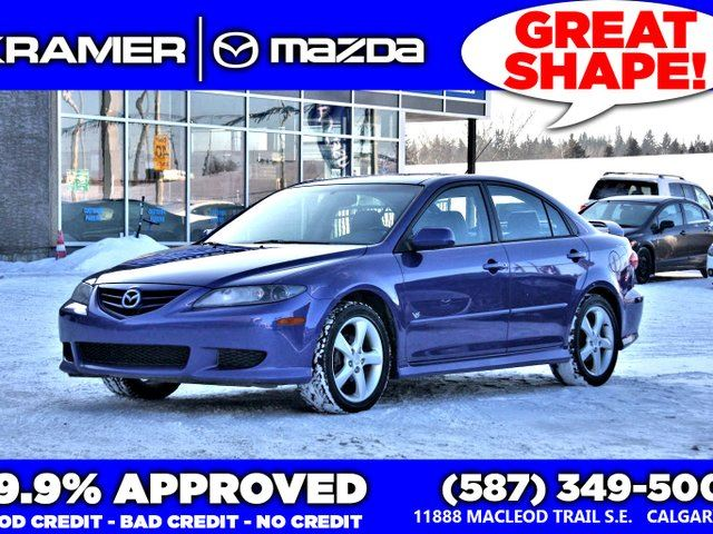 2005 MAZDA MAZDA6 GT V6 w/Manual Transmission in Calgary, Alberta