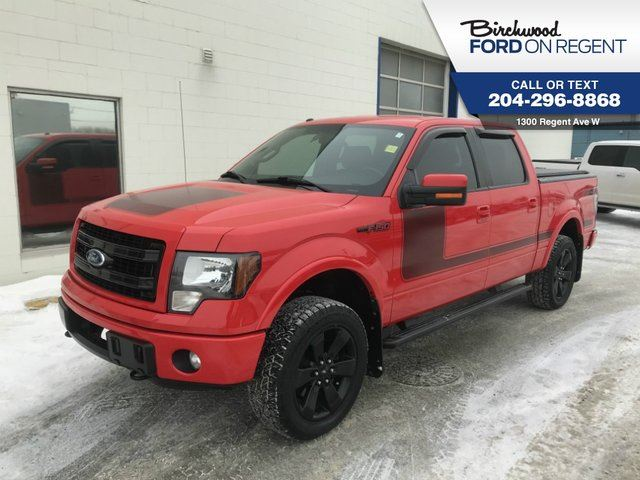 2013 FORD F-150 FX4 Supercrew 4X4*FX4 Appearance Package* in Winnipeg, Manitoba