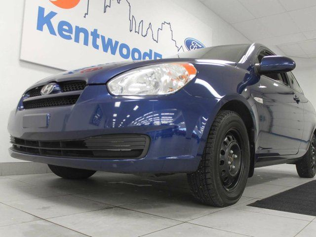 2009 HYUNDAI ACCENT Accent coupe- because who doesn't love an accent in Edmonton, Alberta