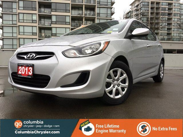 2013 HYUNDAI ACCENT GL, LOCALLY DRIVEN, NO ACCIDENTS, GREAT CONDITION, FREE LIFETIME ENGINE WARRANTY! in Richmond, British Columbia
