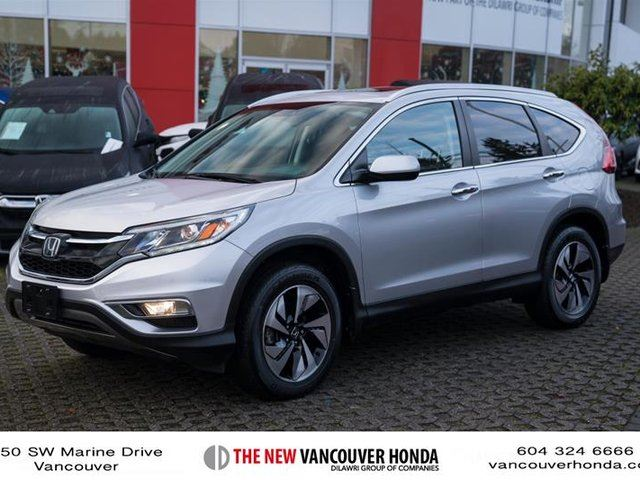 2015 HONDA CR-V Touring AWD in Vancouver, British Columbia