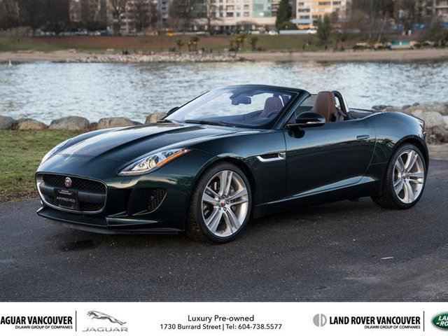 2017 JAGUAR F-TYPE Convertible at in Vancouver, British Columbia