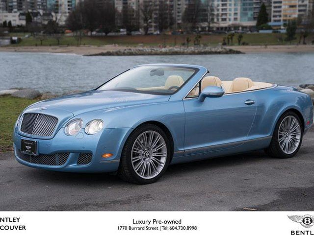 2010 BENTLEY CONTINENTAL Speed in Vancouver, British Columbia