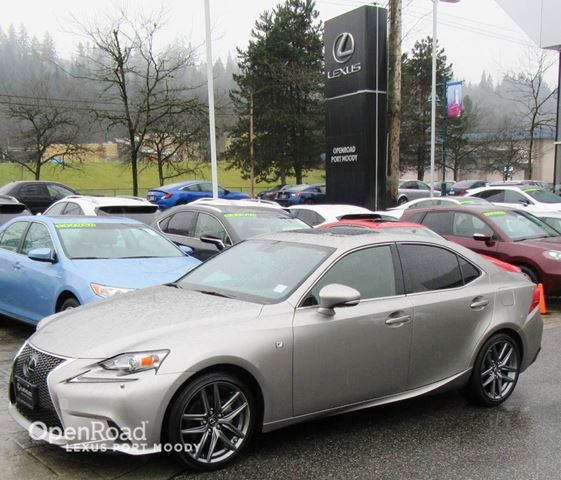 2014 LEXUS IS 250 F Sport Executive - Navigation - 15 Speaker Mar in Port Moody, British Columbia