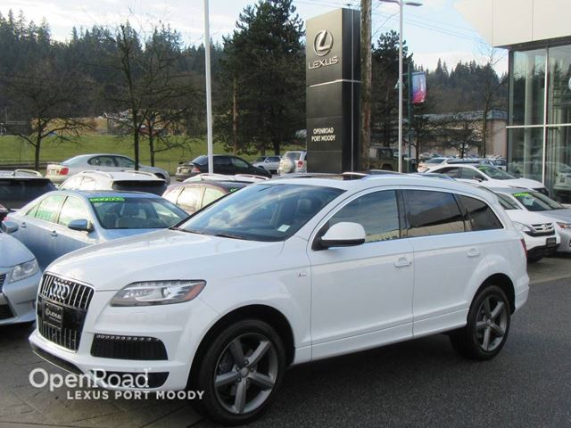 2015 AUDI Q7 3.0T S Line - Vorsprung Edition - Navigation -  in Port Moody, British Columbia