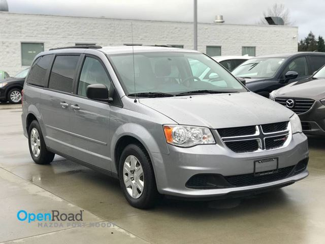 2013 DODGE GRAND CARAVAN SE A/T One Owner Local Cd player AUX A/C Power  in Port Moody, British Columbia