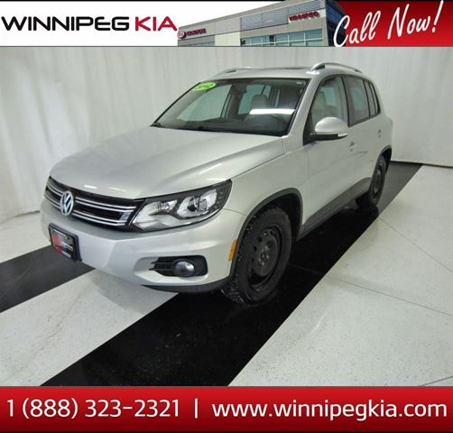 2012 VOLKSWAGEN TIGUAN 2.0 TSI Highline in Winnipeg, Manitoba