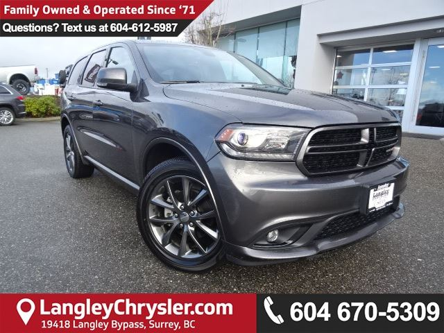 2017 DODGE DURANGO GT *ACCIDENT FREE AWD*ONE OWNER*LOCAL BC SUV* in Surrey, British Columbia