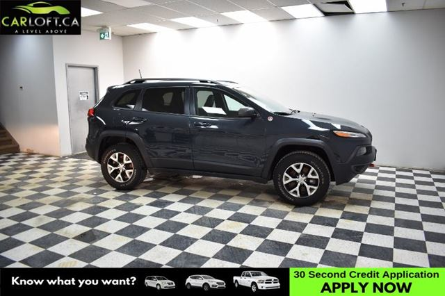 2016 JEEP CHEROKEE Trailhawk 4x4- LEATHER * BACKUP CAM * HEATED SEATS in Kingston, Ontario