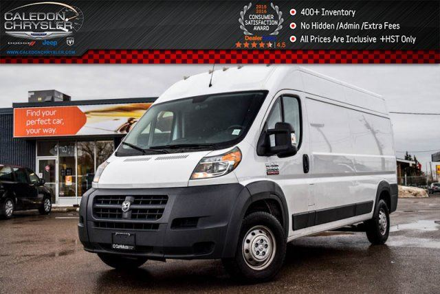 2017 RAM PROMASTER 3500 High Roof 159WB Pwr Windows Pwr Locks Keyless Entry in Bolton, Ontario