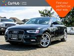 2014 Audi A4 Technik Quattro Navi Sunroof Backup Cam Bluetooth Leather Heated Front Seats 18Alloy Rims in Bolton, Ontario
