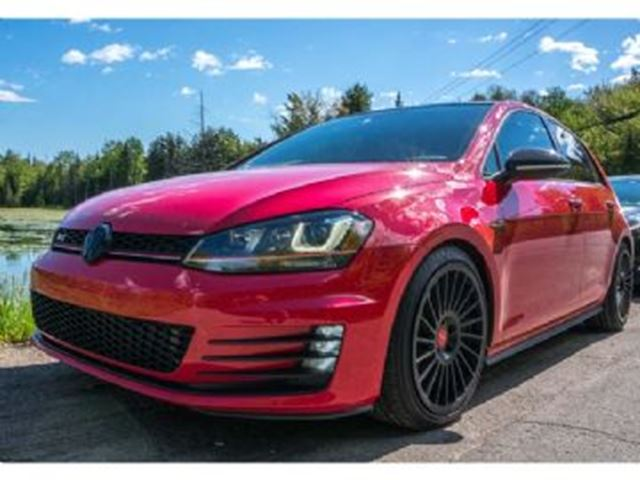2017 VOLKSWAGEN GOLF GTI Autobahn w/ Complete Aesthetic Protection in Mississauga, Ontario