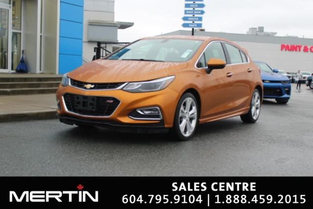 2017 CHEVROLET CRUZE Premier in Chilliwack, British Columbia