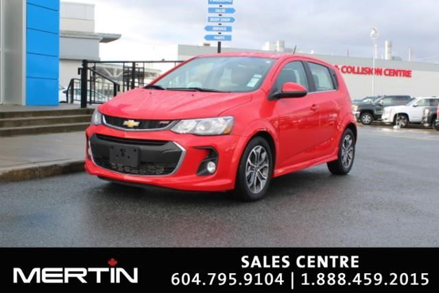 2017 CHEVROLET SONIC LT in Chilliwack, British Columbia