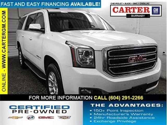 2017 GMC YUKON XL SLT in Burnaby, British Columbia