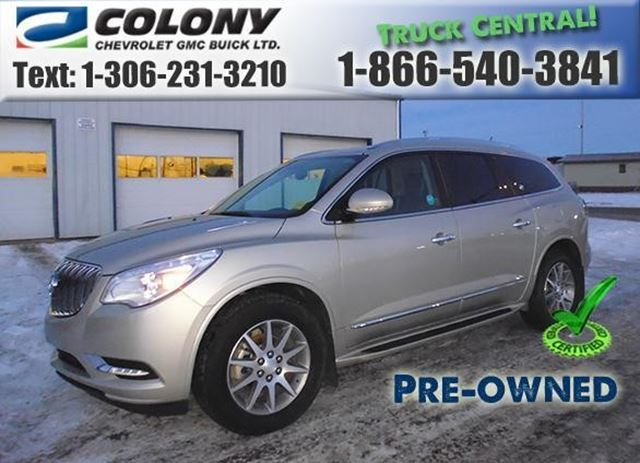 2015 Buick Enclave Leather in Humboldt, Saskatchewan