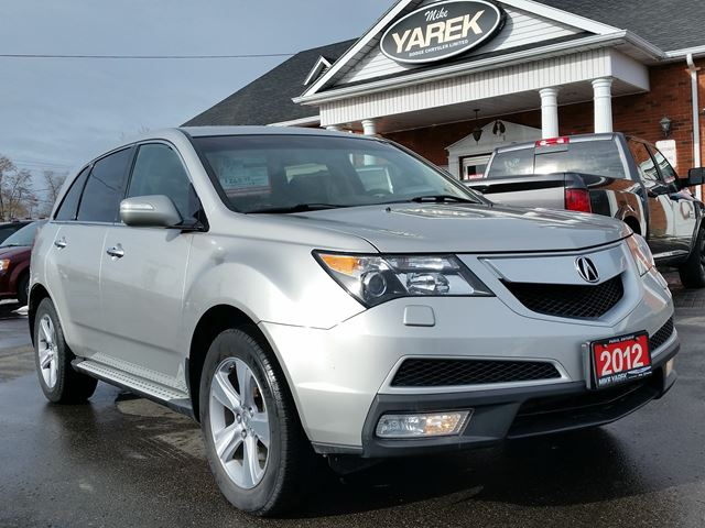 2012 Acura MDX Tech Pkg AWD, DVD, NAV, Heated Leather, Sunroof, Back Up Cam in Paris, Ontario