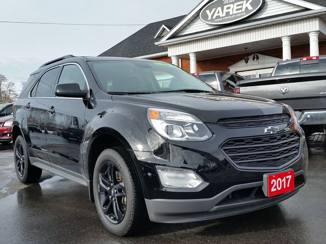 2017 Chevrolet Equinox LT AWD, Leather Heated Seats, NAV, Sunroof, Back Up Cam, Remote Start in Paris, Ontario