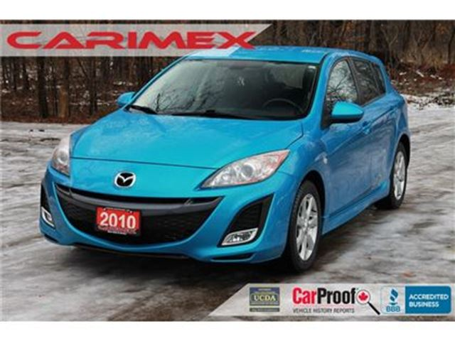 2010 MAZDA MAZDA3 GS WOW ONLY 57K   CERTIFIED in Kitchener, Ontario