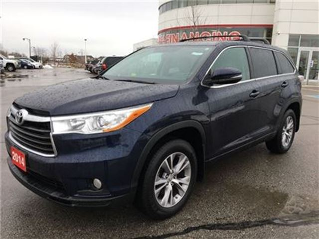 2014 Toyota Highlander LE FWD V6 Conv Pkg - Off-Lease / No Accidents in Stouffville, Ontario