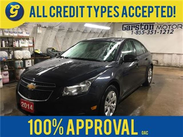 2014 Chevrolet Cruze 2LS*KEYLESS ENTRY*POWER WINDOWS/LOCKS*CLIMATE CONT in Cambridge, Ontario