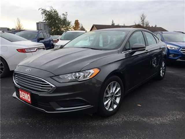 2017 FORD FUSION SE FWD  DEMO  $173 BIWEEKLY $0 DOWN! in Waterloo, Ontario