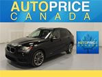 2014 BMW X1 TECH PKG NAVI PANOROOF P-SEATS in Mississauga, Ontario