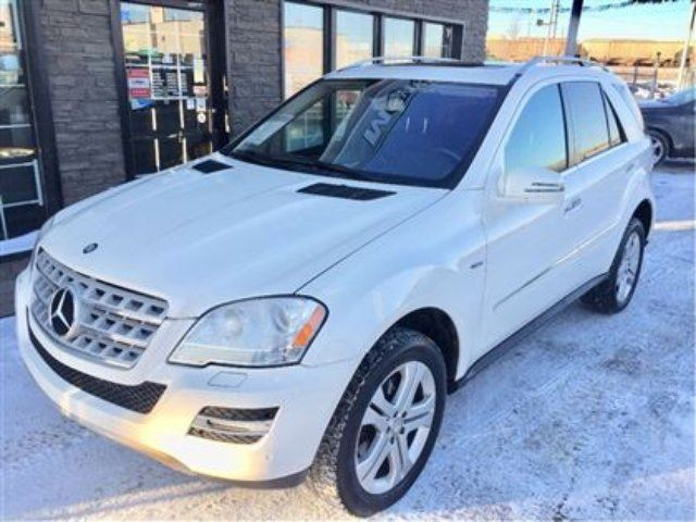 2011 MERCEDES-BENZ M-CLASS ML350 BlueTEC 4MATIC in Edmonton, Alberta