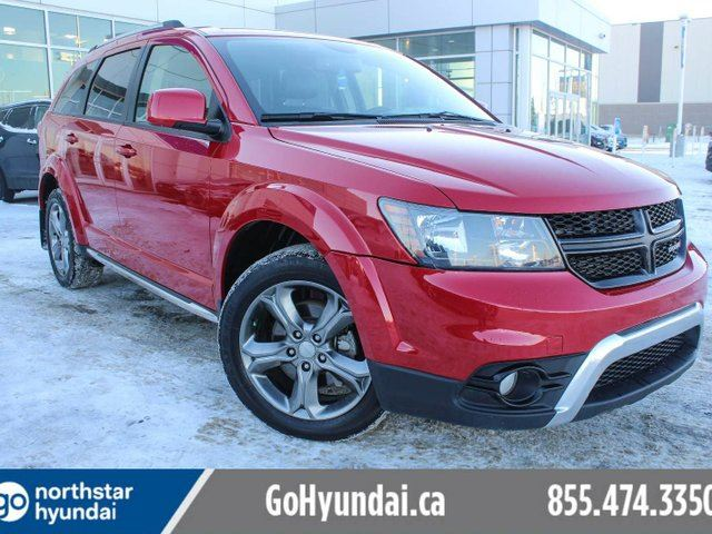 2016 DODGE JOURNEY Crossroad LEATHER/BACKUPCAM/HEATEDSEATS in Edmonton, Alberta