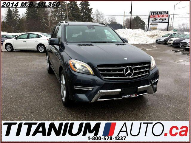 2014 MERCEDES-BENZ M-Class BlueTEC Diesel+AMG PKG+Pano+GPS+360 Camera+Blind S in London, Ontario