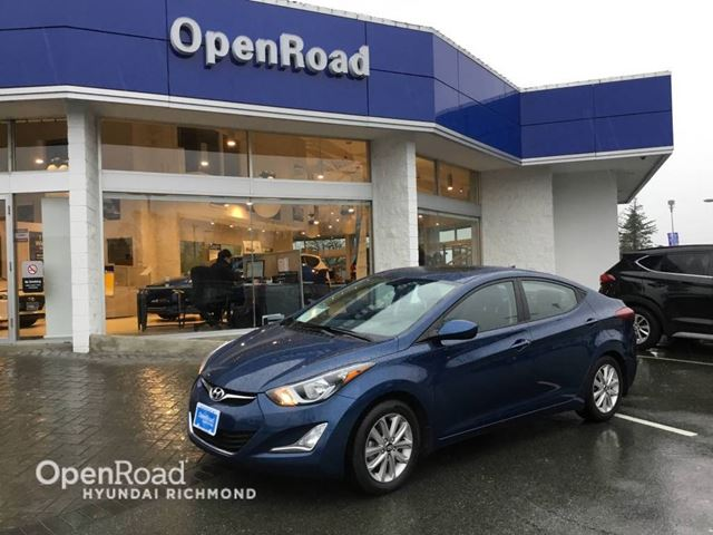 2016 HYUNDAI ELANTRA Sport (SE)- FINANCE AS LOW AS 1.9% in Richmond, British Columbia