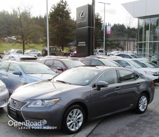 2014 LEXUS ES 300H Navigation Package - Lexus Premium Audio in Port Moody, British Columbia