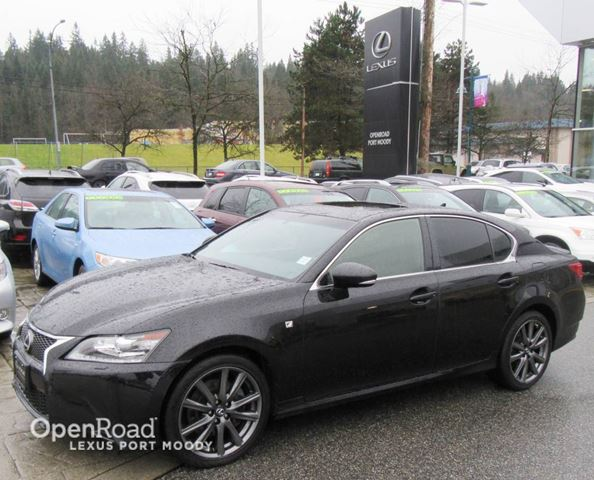 2014 LEXUS GS 350 F Sport AWD - Navigation - Back Up Camera in Port Moody, British Columbia
