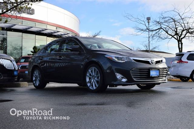 2013 TOYOTA Avalon XLE, Navigation, Power sunroof, Heated/Cooled f in Richmond, British Columbia