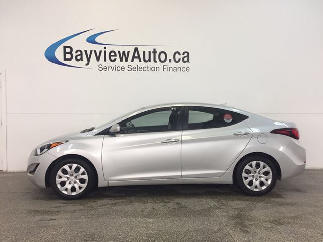 2015 HYUNDAI Elantra GL- 1.8L|AUTO|ECO MODE|HTD STS|BLUETOOTH|CRUISE! in Belleville, Ontario