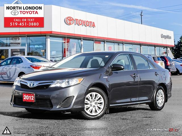 2012 TOYOTA Camry Hybrid LE One Owner, Toyota Serviced in London, Ontario